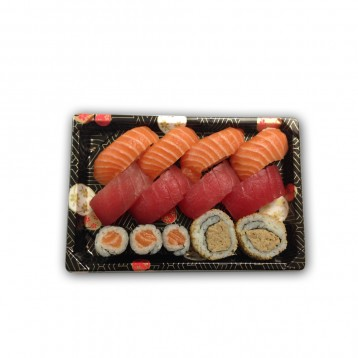 zalm en tonijn sushi