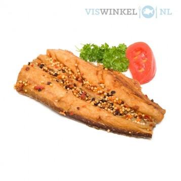 gestoomde makreelfilet (peper)