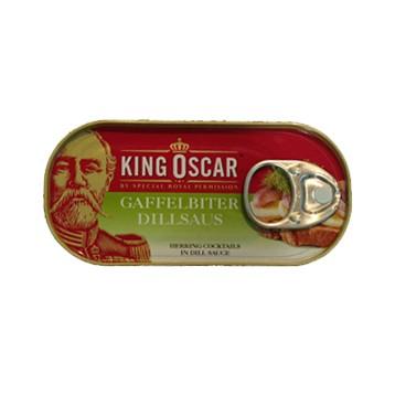 King oscar gaffelbitter