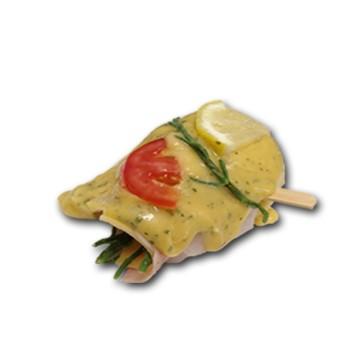 pangarol ham/kaas in Bretagne marinade