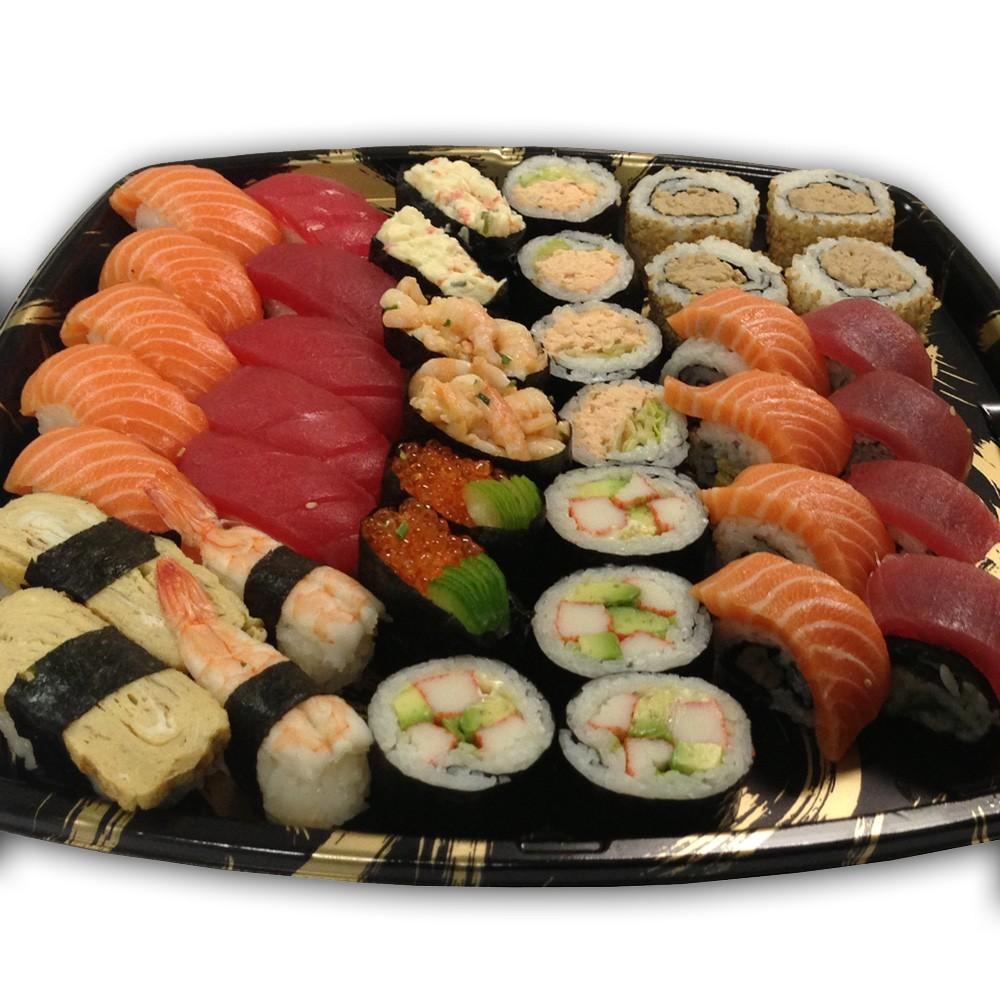 at gå over stregen sushi sorø